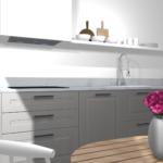 Ikea Küche Kche Planen Stylische Designerkche Mit Kleinem Budget Umziehen Ausstellungsküche Müllschrank Niederdruck Armatur Tapeten Für Insel Wohnzimmer Ikea Küche
