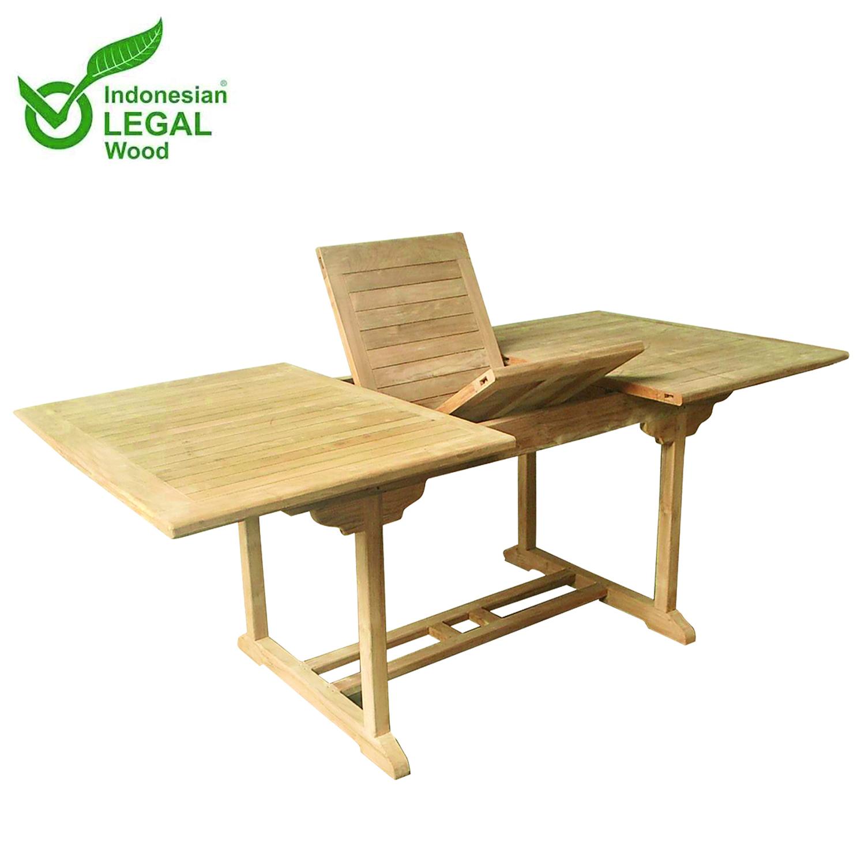 Full Size of Gartentisch Holz Ausziehbar Xxxl Teak Tisch 210 160 110 75 Cm Alu Fenster Preise Modulküche Holzregal Küche Bett Massivholz Schlafzimmer Betten Wohnzimmer Gartentisch Holz Ausziehbar