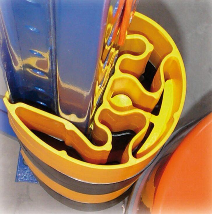 Medium Size of Anfahrschutz Regal Set Jeweils 2 Protektoren In Gelb Und Schwarz Günstige Regale Gastro Metall Weiß Fnp Tisch Kombination Nach Maß Paschen 60 Cm Breit Ahorn Regal Anfahrschutz Regal