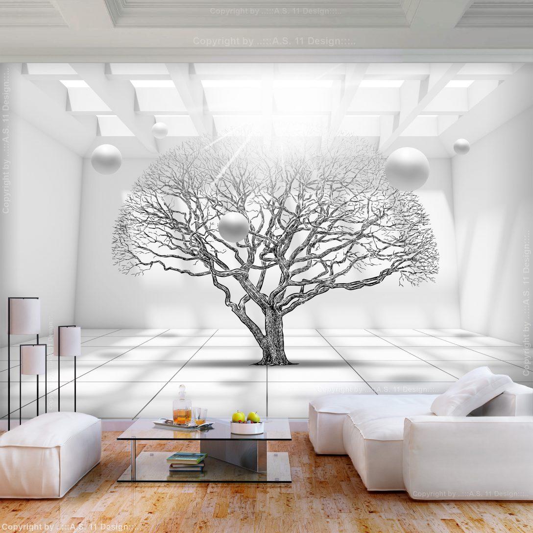 Large Size of 3d Fototapete Vlies Baum Optik Kugeln Gro Tapete Wohnzimmer Schlafzimmer Küche Fototapeten Fenster Wohnzimmer 3d Fototapete