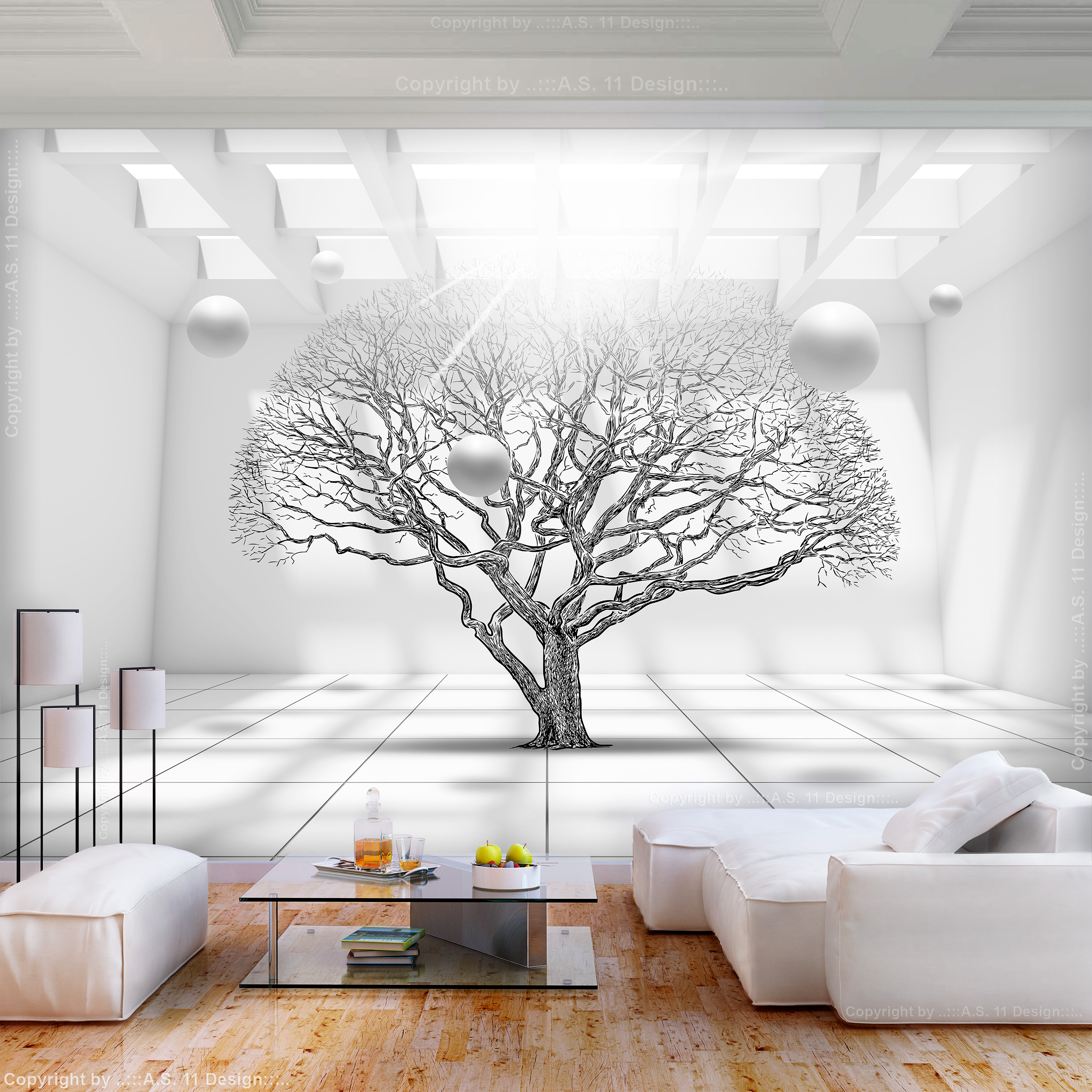 Full Size of 3d Fototapete Vlies Baum Optik Kugeln Gro Tapete Wohnzimmer Schlafzimmer Küche Fototapeten Fenster Wohnzimmer 3d Fototapete