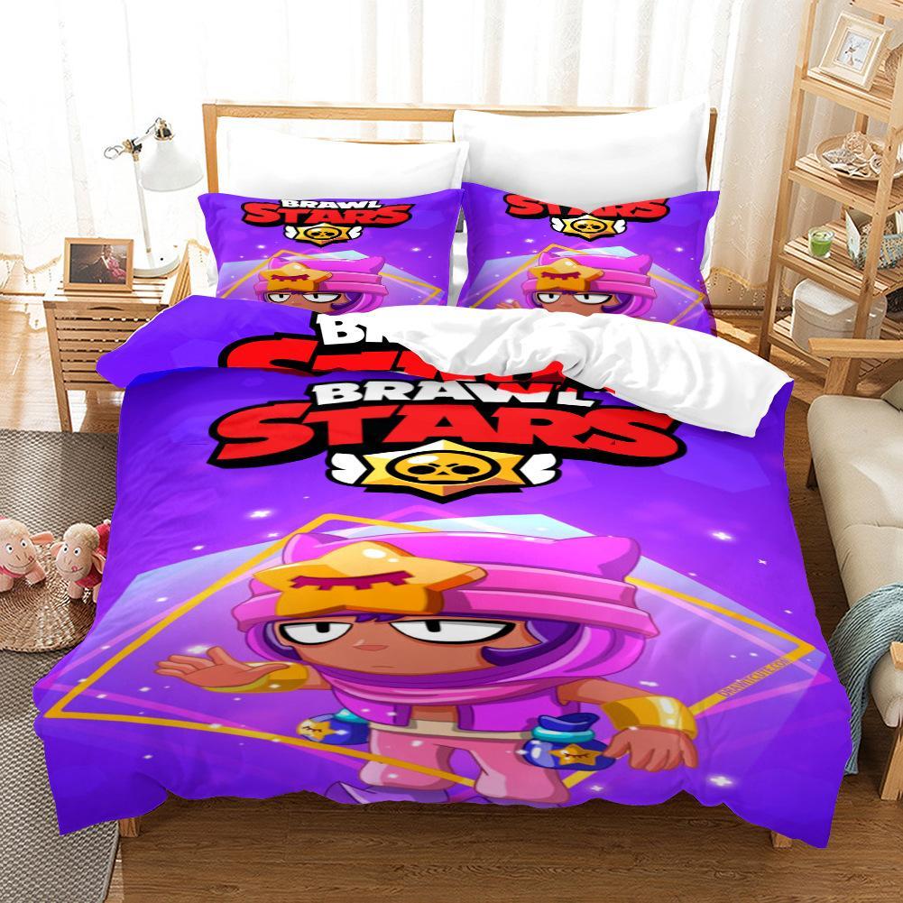 Full Size of Brawl Stars Sandy Bettwsche Set Steppdeckenberzug Mit Teenager Betten Bettwäsche Sprüche Für Wohnzimmer Bettwäsche Teenager