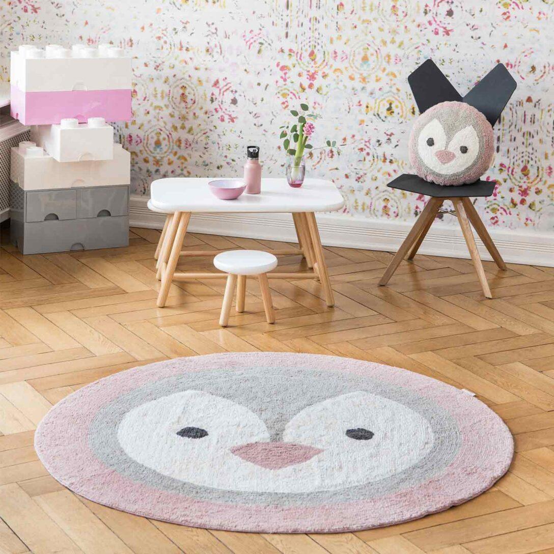 Large Size of Runder Teppich Kinderzimmer Minividuals Pinguin Engelbengel Onlineshop Für Küche Sofa Bad Badezimmer Regal Schlafzimmer Esstisch Wohnzimmer Regale Kinderzimmer Runder Teppich Kinderzimmer