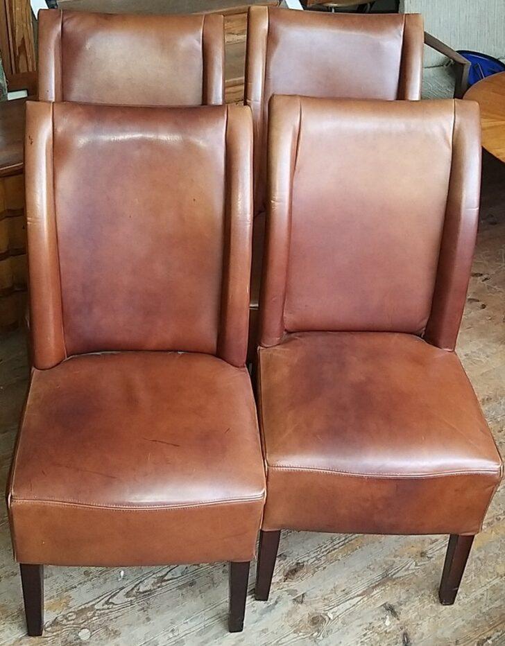 Medium Size of Esstischstühle Satz Ledersthle Esstischsthle Leder Gut Erhalten Esstische Esstischstühle