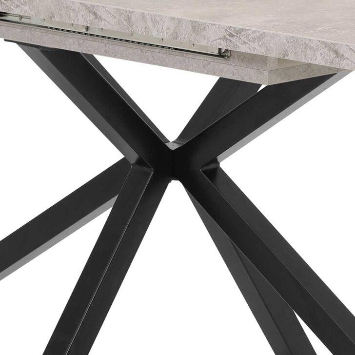 Medium Size of Esstisch Grau In Schwarz Und Beton Mittelauszug Tisch Kaufende Esstischstühle Ovaler Esstische Massivholz Rund Ausziehbar Betonplatte Kaufen Oval Deckenlampe Esstische Esstisch Grau