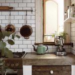 Küchen Ideen 27 Kchen Rustikale Kche Mit Modernen Elementen Wohnzimmer Tapeten Bad Renovieren Regal Wohnzimmer Küchen Ideen