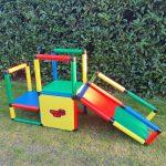 Quadro Klettergerüst Spielhaus Garten Wohnzimmer Quadro Klettergerüst