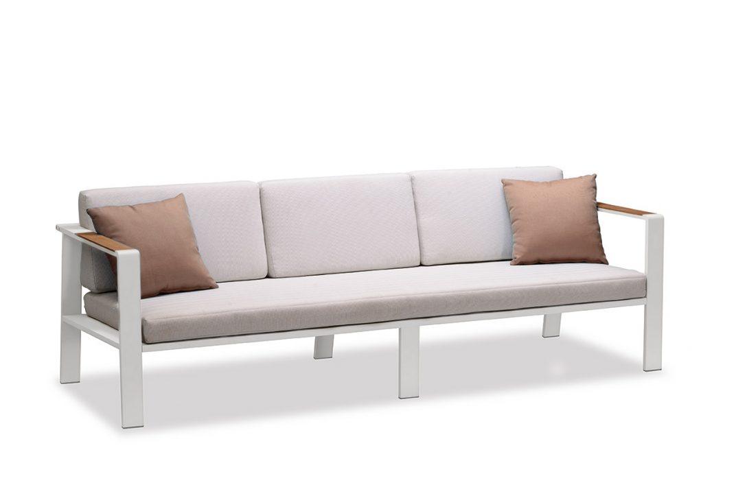 Large Size of Outdoor Sofa Wetterfest Ikea Couch Lounge Bernstein Gartenlounge Nofi Einzelelement 3er Mit Armlehnen Antikes Boxspring Schlaffunktion 2 5 Sitzer Grau Leder Wohnzimmer Outdoor Sofa Wetterfest