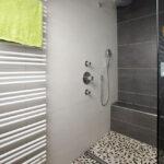 Begehbare Dusche Fliesendesign Erhardbegehbare Mit Sitzgelegenheit Behindertengerechte Fliesen Antirutschmatte Einhebelmischer Unterputz Armatur Raindance Dusche Begehbare Dusche