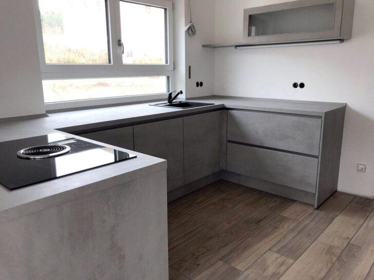 Medium Size of Küchenwand Wandfliesen Betonoptik Kche Hngeschrank Arbeitsplatte Obi Wohnzimmer Küchenwand