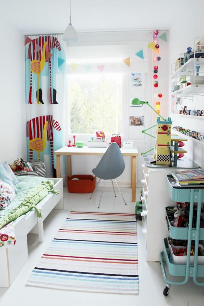 Full Size of Kinderzimmer Jungs Kindergardinen Mit Lustigen Mustern Beleben Das Regale Regal Sofa Weiß Kinderzimmer Kinderzimmer Jungs