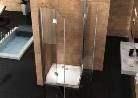 Eckeinstieg Dusche