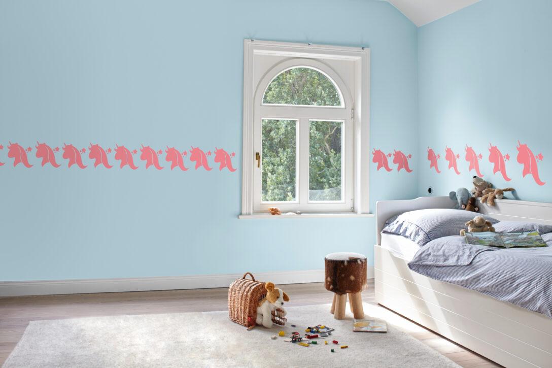 Large Size of Wandschablonen Kinderzimmer Diy Frs Das Einhorn An Der Wand Sofa Regal Weiß Regale Kinderzimmer Wandschablonen Kinderzimmer