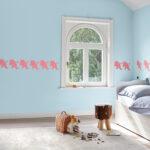 Wandschablonen Kinderzimmer Kinderzimmer Wandschablonen Kinderzimmer Diy Frs Das Einhorn An Der Wand Sofa Regal Weiß Regale