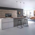 Küche Mit Bar Magnettafel Einbauküche Ohne Kühlschrank Modulküche Holz Buche Tresen Elektrogeräten Günstig Aufbewahrungssystem Esstisch 4 Stühlen Sofa Wohnzimmer Küche Mit Bar