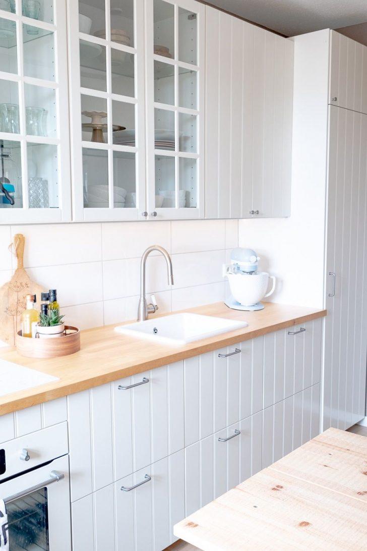 Medium Size of Landhausküche Ikea Dekosamstag Wie Optimiere Ich Eine Landhauskche Und Ein Grau Sofa Mit Schlaffunktion Weiß Miniküche Weisse Gebraucht Küche Kosten Wohnzimmer Landhausküche Ikea