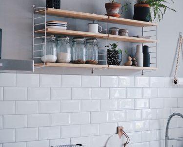 Küchen Wandregal Wohnzimmer Wandregal Kche Eiche Mit Haken Design Schwarz Metall Küchen Regal Küche Landhaus Bad