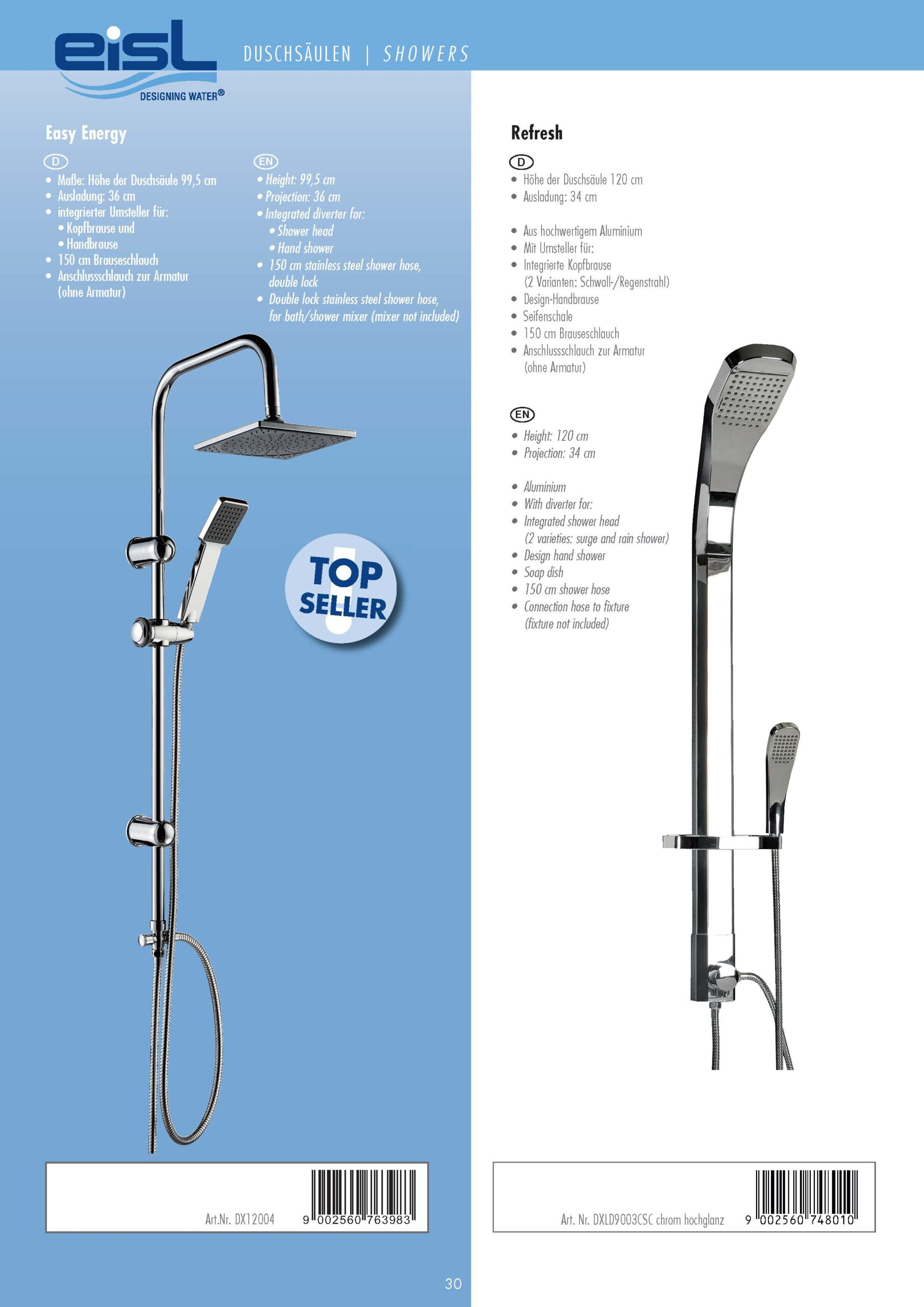 Full Size of Eisl Designing Water Katalog Duschsäulen Dusche Duschsäulen
