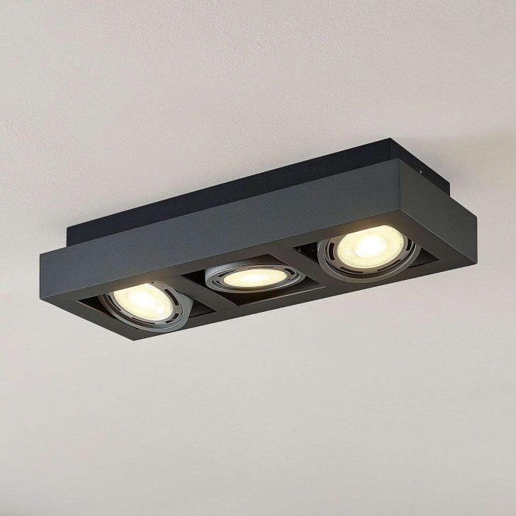 Medium Size of Led Deckenstrahler Ronka 3 Gu10 Dunkelgrau Kchenleuchte Flur Wohnzimmer Küchenleuchte