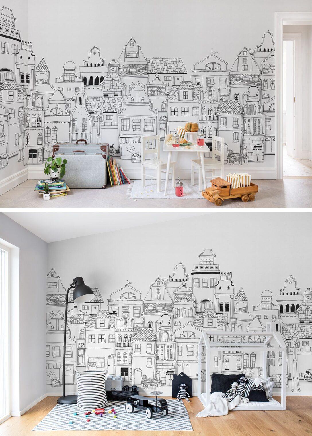 Large Size of Kinderzimmer Wanddeko London Houses Tapete Küche Sofa Regal Regale Weiß Kinderzimmer Kinderzimmer Wanddeko