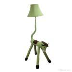 Stehlampe Kinderzimmer Kinderzimmer Oovov Green Horse Stoff Stehlampe Kreative Regale Wohnzimmer Schlafzimmer Sofa Regal Stehlampen Weiß