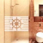 Dusche Wand Streifenbordre Steuerrad Aufkleber Wall Decal Komplett Set Wandfliesen Küche Glaswand Unterputz Armatur Lärmschutzwand Garten Nischentür 90x90 Dusche Dusche Wand