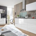 Roller Küchen Kchenblock Jazz 4 Kchenzeile Wei Hochglanz 320 Cm Regale Regal Wohnzimmer Roller Küchen