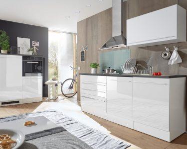 Roller Küchen Wohnzimmer Roller Küchen Kchenblock Jazz 4 Kchenzeile Wei Hochglanz 320 Cm Regale Regal