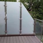 Paravent Balkon Garten Glas Sichtschutz Fr Wohnzimmer Paravent Balkon