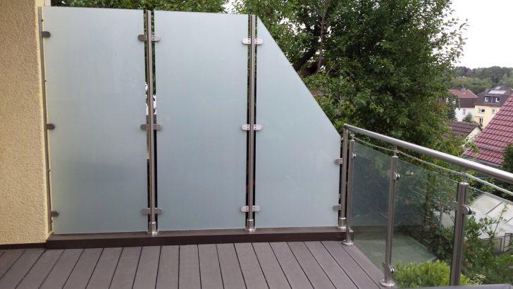Medium Size of Paravent Balkon Garten Glas Sichtschutz Fr Wohnzimmer Paravent Balkon