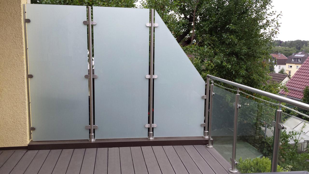 Full Size of Paravent Balkon Garten Glas Sichtschutz Fr Wohnzimmer Paravent Balkon