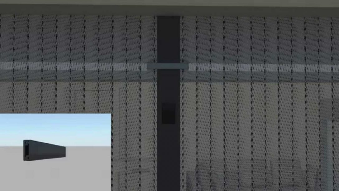 Large Size of Fliegengitter Magnet Magnetvorhang Von Jarolift Montage Youtube Fenster Maßanfertigung Magnettafel Küche Für Wohnzimmer Fliegengitter Magnet