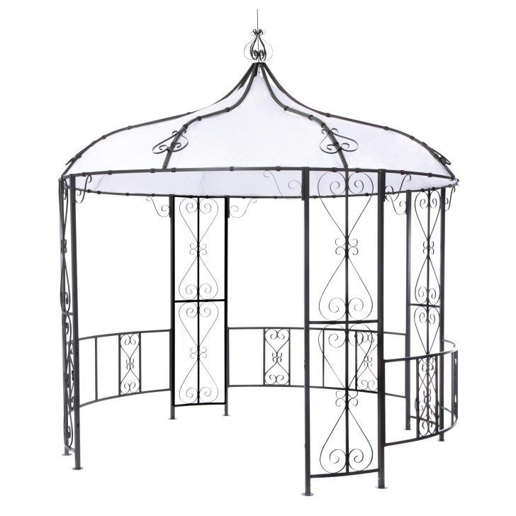 Medium Size of Pavillon Rund Metall Gebraucht Ersatzdach Beige 3 5m Durchmesser Holz 6m 4 M 3m Pool Geschlossen Selber Bauen 2 200 Cm Mit Dach 4m Tepro Rowa Gartenpavillon Wohnzimmer Pavillon Rund