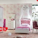 Kinderzimmer Prinzessin Kinderzimmer Kinderzimmer Prinzessin Komplett Pretty Mdchenzimmer Rosa 5 Bett Regale Regal Weiß Sofa Prinzessinen