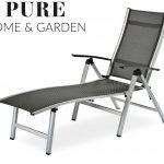 Sonnenliege Aldi Gartenliege Alu Rollen Relaxsessel Garten Wohnzimmer Auflage Wohnzimmer Sonnenliege Aldi