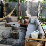 Loungeecke Garten Wohnzimmer Loungeecke Garten Lounge Set Zertifiziertes Holz Braun Timor Kugelleuchten Liegestuhl Ausziehtisch Pavillon Spaten Feuerschale Kinderhaus Spielhaus Möbel