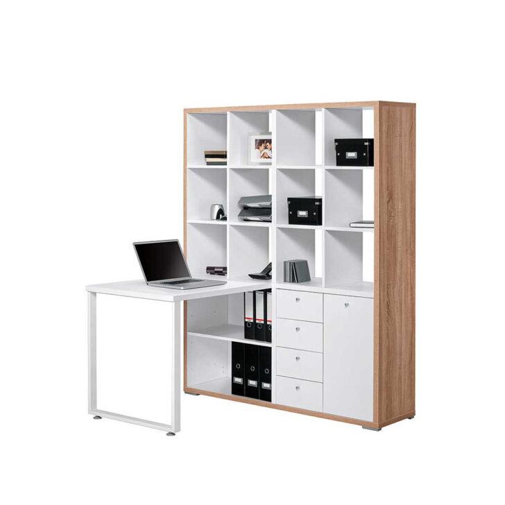 Medium Size of Regal Schreibtisch Ikea Kombination Selber Bauen Kombi Regalaufsatz Integriert Mit Integriertem Klappbar Broeinrichtung Pisira Wohnende Wandregal Bad Meta Regal Regal Schreibtisch