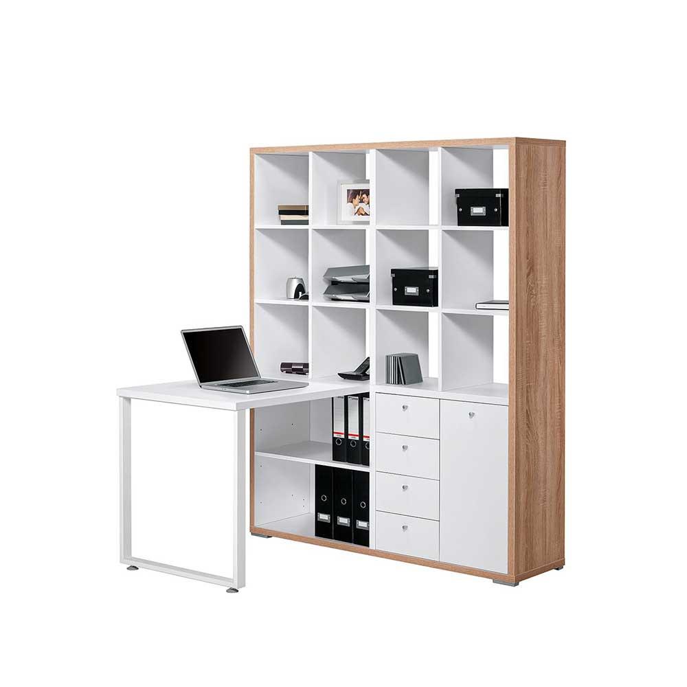 Full Size of Regal Schreibtisch Ikea Kombination Selber Bauen Kombi Regalaufsatz Integriert Mit Integriertem Klappbar Broeinrichtung Pisira Wohnende Wandregal Bad Meta Regal Regal Schreibtisch