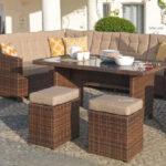 Luxus Ecklounge 5 Teilig Gartenmbel Rattan Garten Eck Sofa Lounge Loungemöbel Günstig Möbel Holz Sessel Set Wohnzimmer Terrassen Lounge