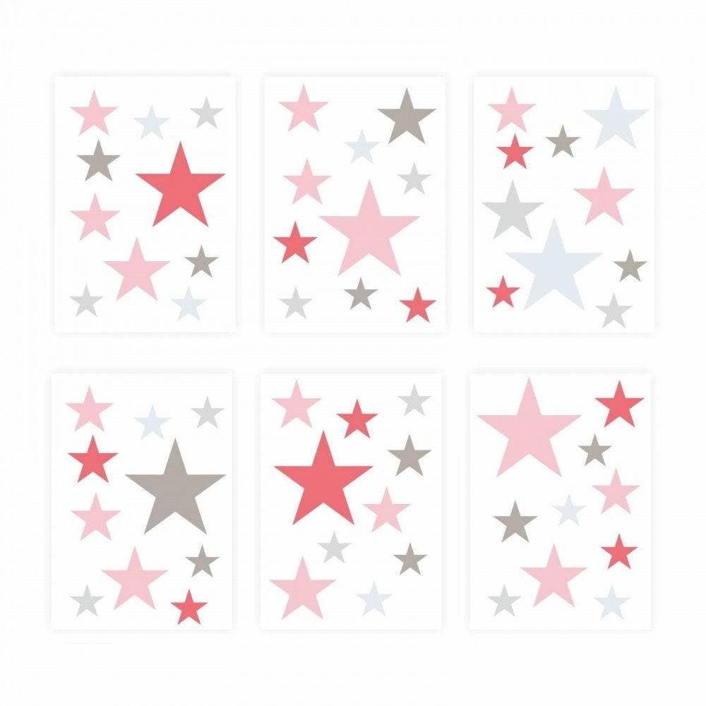 Full Size of Sternenhimmel Kinderzimmer 129 Wandtattoo Sterne Set Rosa Pink 60 Stck Regale Regal Sofa Weiß Kinderzimmer Sternenhimmel Kinderzimmer