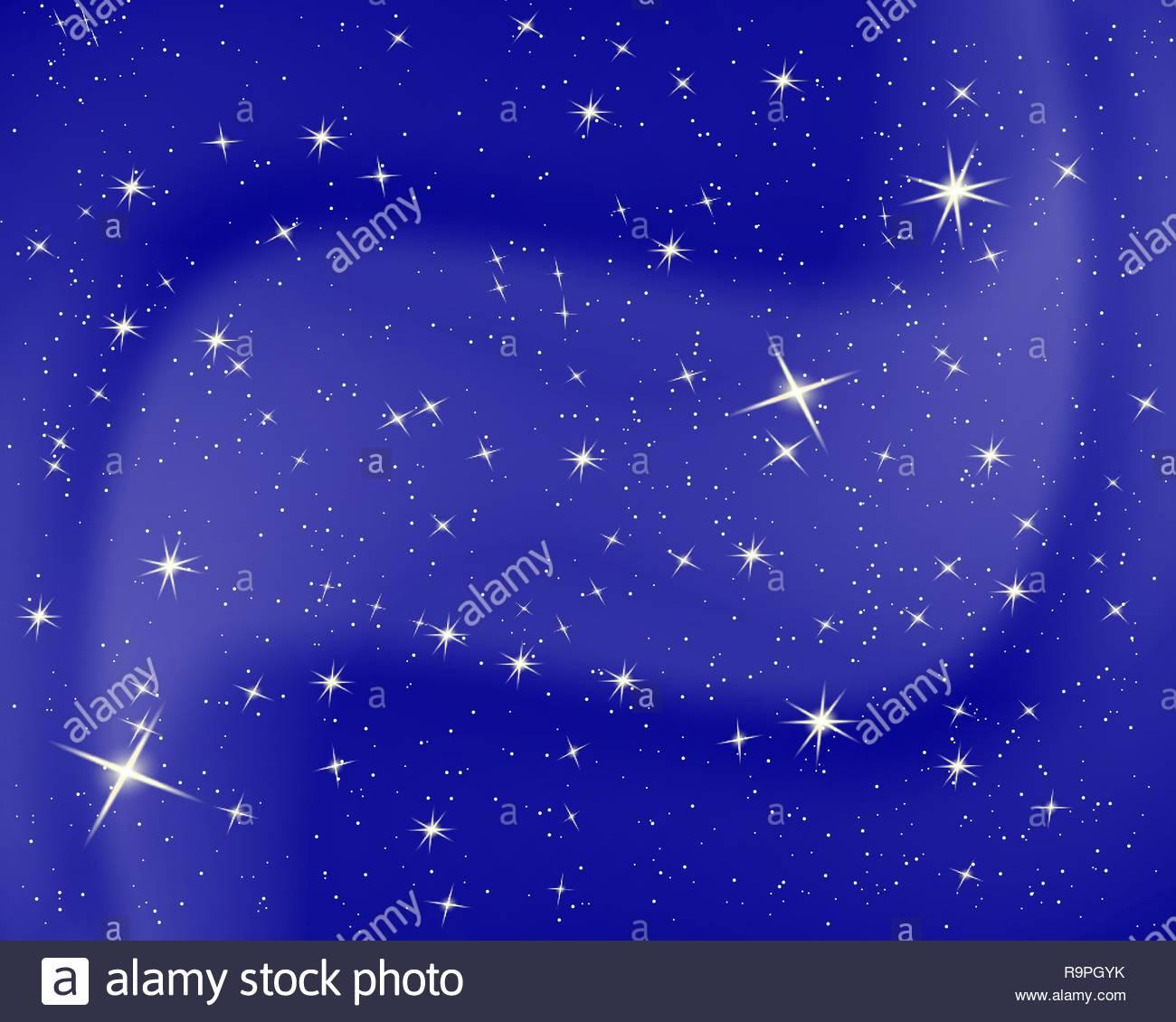 Full Size of Sternenhimmel Kinderzimmer Nachthimmel Mit Sternen Und Wolken Funkeln Blauen Regal Regale Sofa Weiß Kinderzimmer Sternenhimmel Kinderzimmer