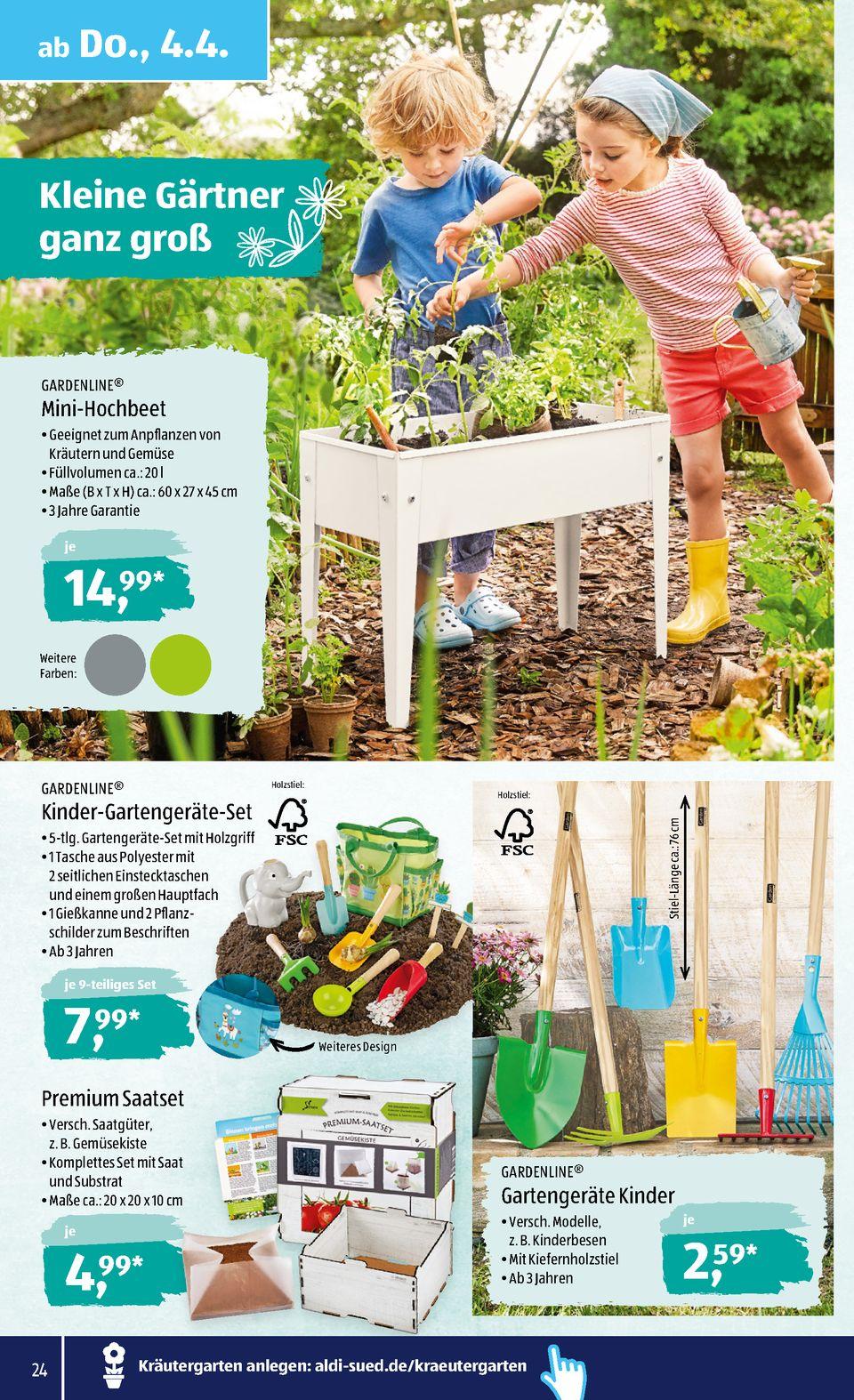 Full Size of Hochbeet Aldi Sd Prospekte Wochenaktion Seite No 24 48 Gltig Von 14 Garten Relaxsessel Wohnzimmer Hochbeet Aldi
