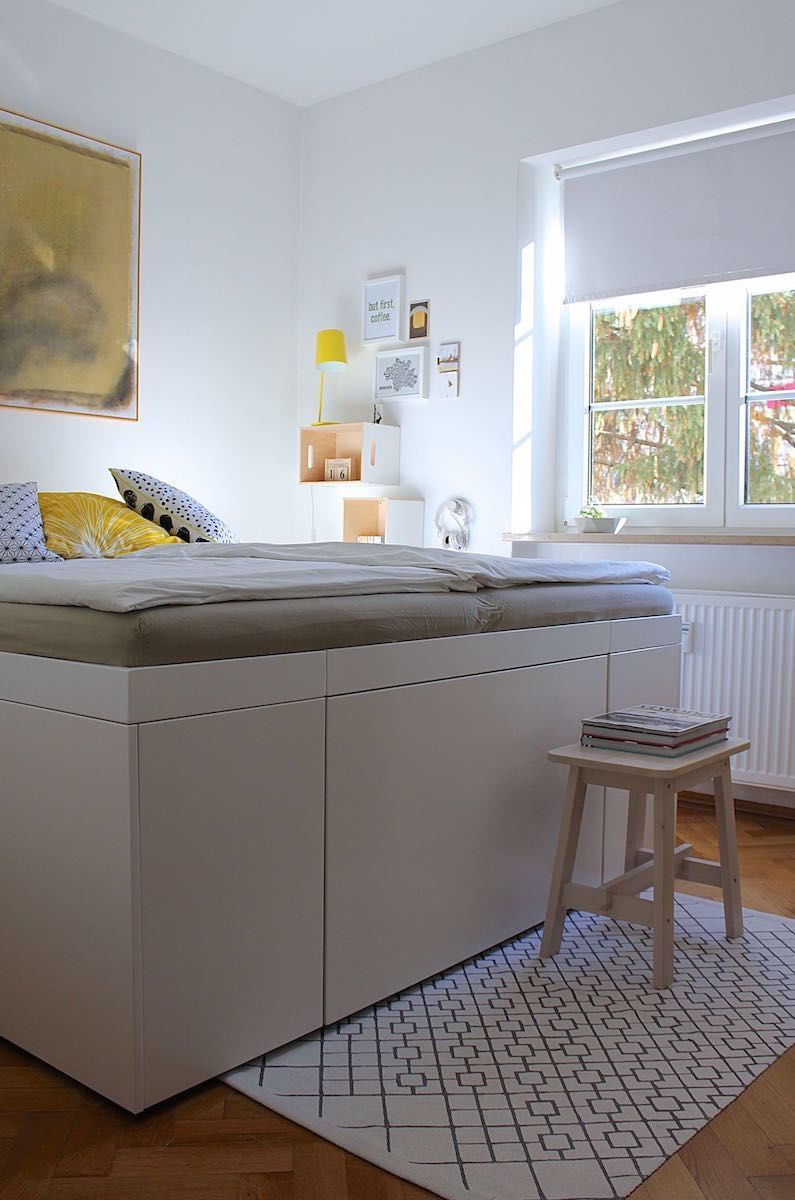 Full Size of Bett Mit Stauraum Ikea Malm 160x200 Hack 120x200 140x200 Betten Küche Elektrogeräten Günstig Ohne Kopfteil Sofa Schlaffunktion Federkern Amazon 180x200 Wohnzimmer Bett Mit Stauraum Ikea