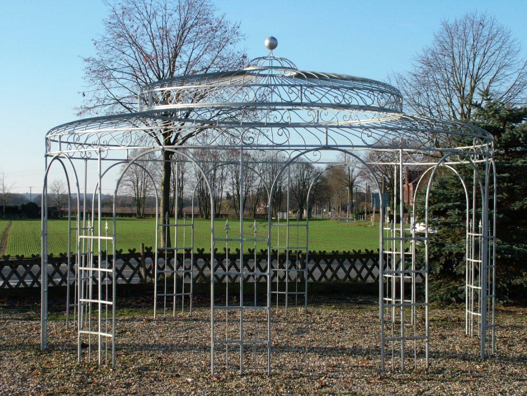Large Size of Gartenpavillon Metall Verzinkte Gartenpavillons Aus In Vielen Ausfhrungen Regale Regal Weiß Bett Wohnzimmer Gartenpavillon Metall