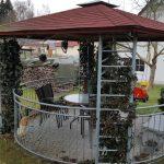 Holz Pavillon Rund Geschlossen Metall 4 M 5m Ersatzdach Durchmesser Eisen Kaufen Pool 3 Aus Klein 4m Pavilions Rundes Bett Marokko Rundreise Und Baden Sofa Wohnzimmer Pavillon Rund