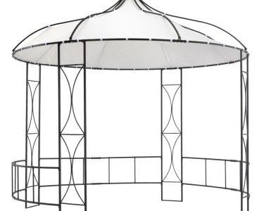 Pavillon Rund Wohnzimmer Pavillon Rund Ersatzdach Holz Kaufen Gartenpavillon Eisen 3 5m Toscana Metall Klein Mit Dach Garten Pool Pavillion Aus Geschlossen Vidaxl 300 290 Cm Wei Real