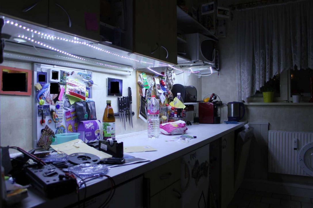 Large Size of Beleuchtung Küche Kche Led Doppelblock Pentryküche Tapeten Für Die Bodenfliesen Kreidetafel Kleiner Tisch Gardinen Pino Weisse Landhausküche Abfalleimer Wohnzimmer Beleuchtung Küche
