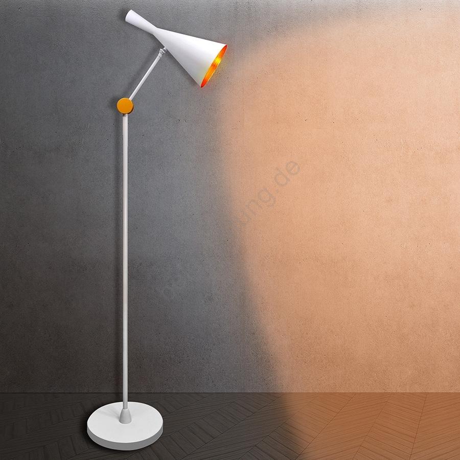 Full Size of Stehlampe Modern 1xe27 20w 230v Weiss Beleuchtungde Moderne Duschen Tapete Küche Esstische Holz Stehlampen Wohnzimmer Landhausküche Schlafzimmer Bett Design Wohnzimmer Stehlampe Modern