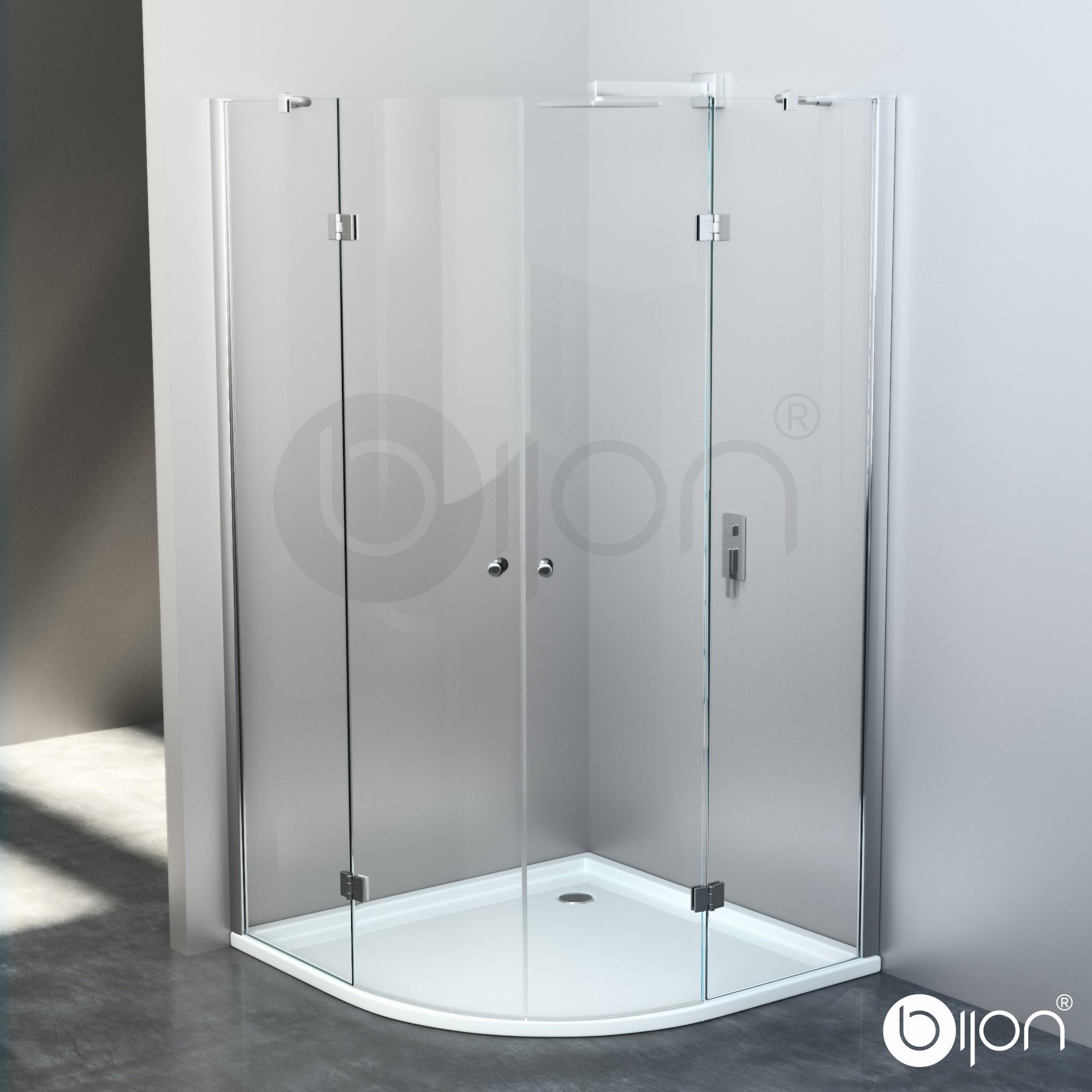 Full Size of Duschabtrennung Viertelkreis In Mehreren Ausfhrungen Sr 008 Fliesen Für Dusche Anal Grohe Glasabtrennung Bidet Glaswand Bodengleiche Einbauen Pendeltür Dusche Dusche 90x90