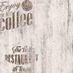 Tapete Coffee Kche Bistro Grau As Creation 33481 2 Küche Eiche Tapeten Für Die Betonoptik Apothekerschrank Mülltonne U Form Kreidetafel Günstige Mit E Wohnzimmer Tapeten Küche